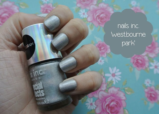sunday nails #30 – nails inc. 'westbourne park' hologram polish