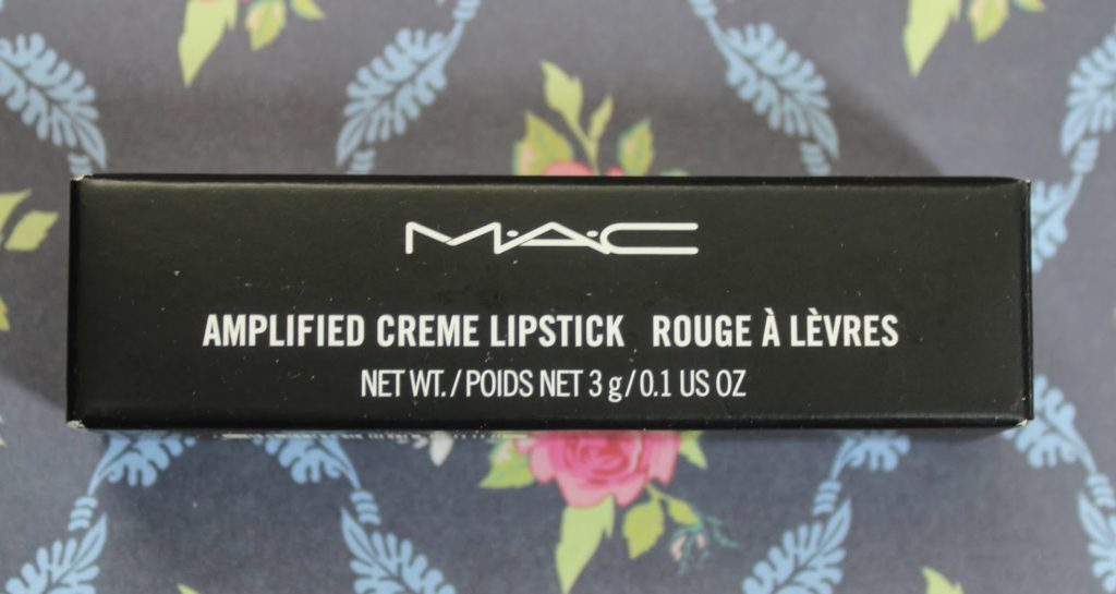 mac amplified lipstick craving