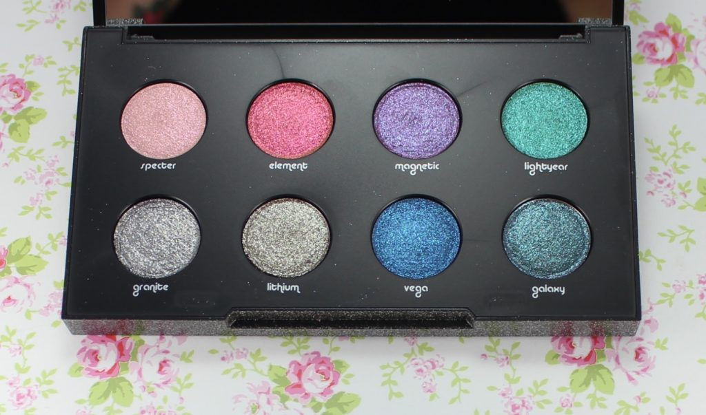 Urban Decay Moondust Eyeshadow Palette beauty blog
