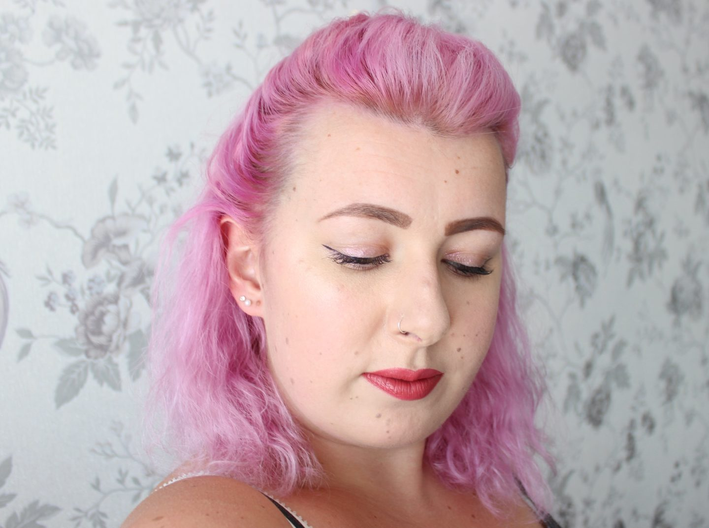pink hair l'oreal colorista review swatch