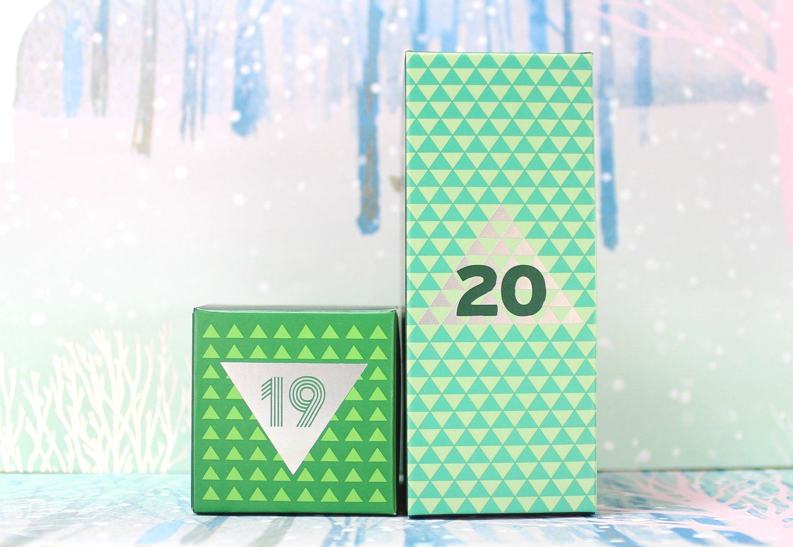 The Body Shop Deluxe Advent Calendar: Days 19 20