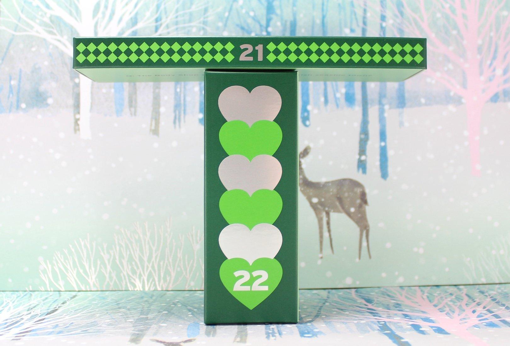 The Body Shop Deluxe Advent Calendar: Days 21 22