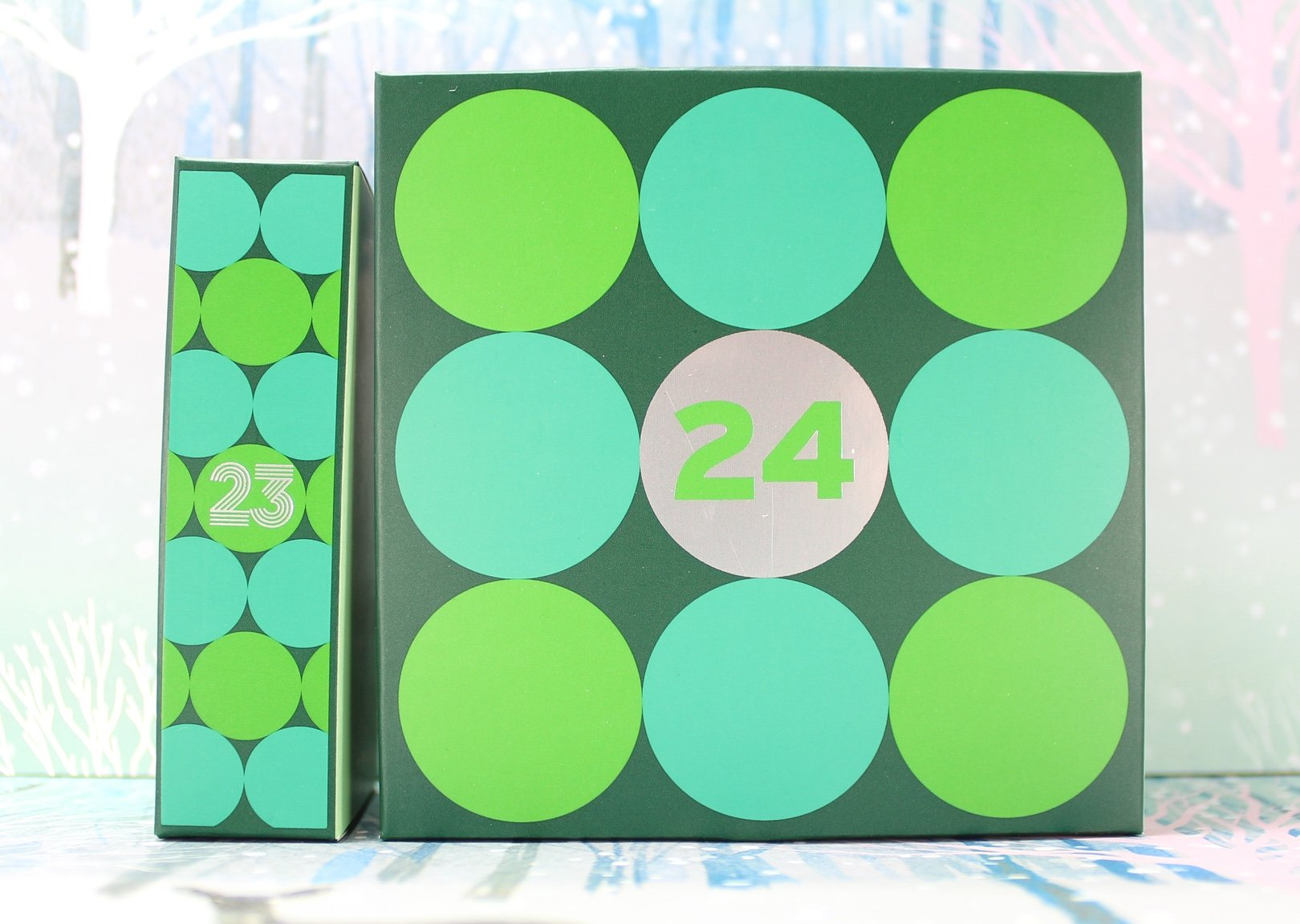 The Body Shop Deluxe Advent Calendar: Days 23 24