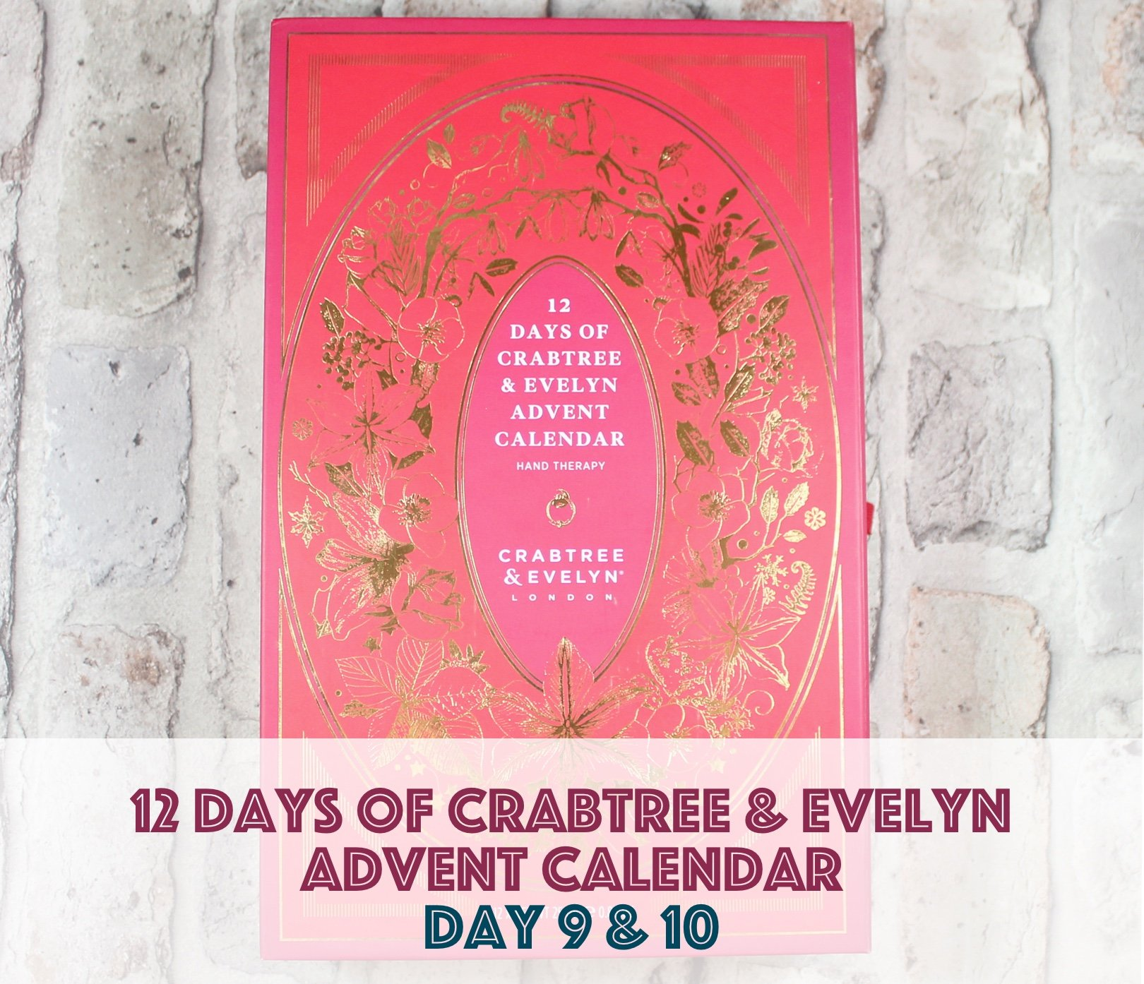 12 days of crabtree & evelyn advent calendar – day 9 & 10