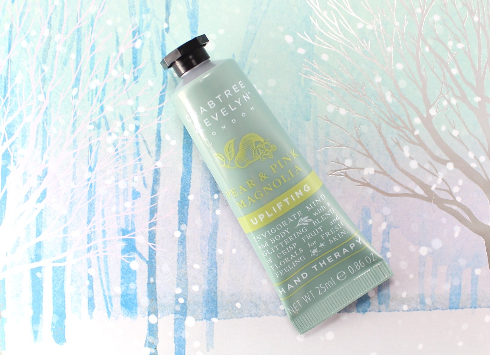 12 days of crabtree & evelyn advent calendar – day 10 pear pink magnolia
