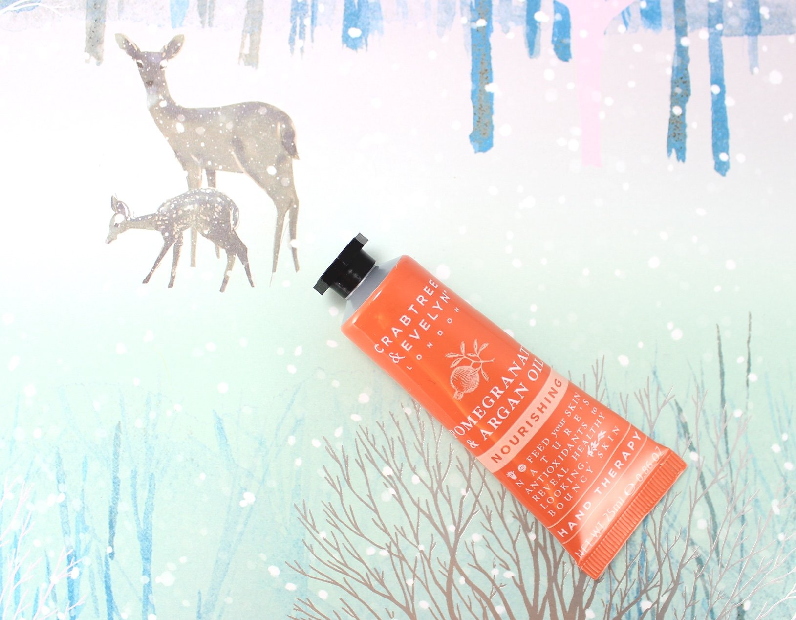 12 days of crabtree & evelyn advent calendar – day 12 swatch