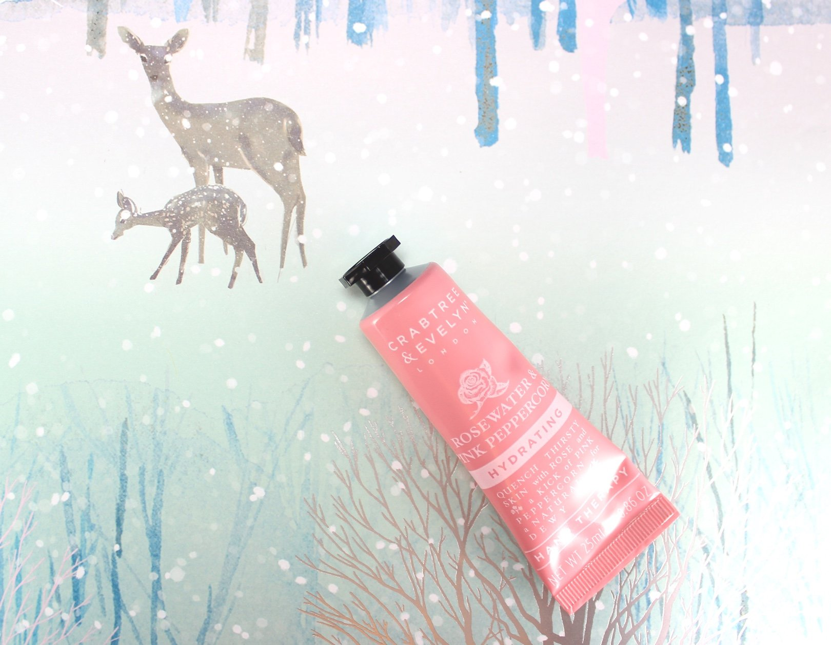 12 days of crabtree & evelyn advent calendar rosewater