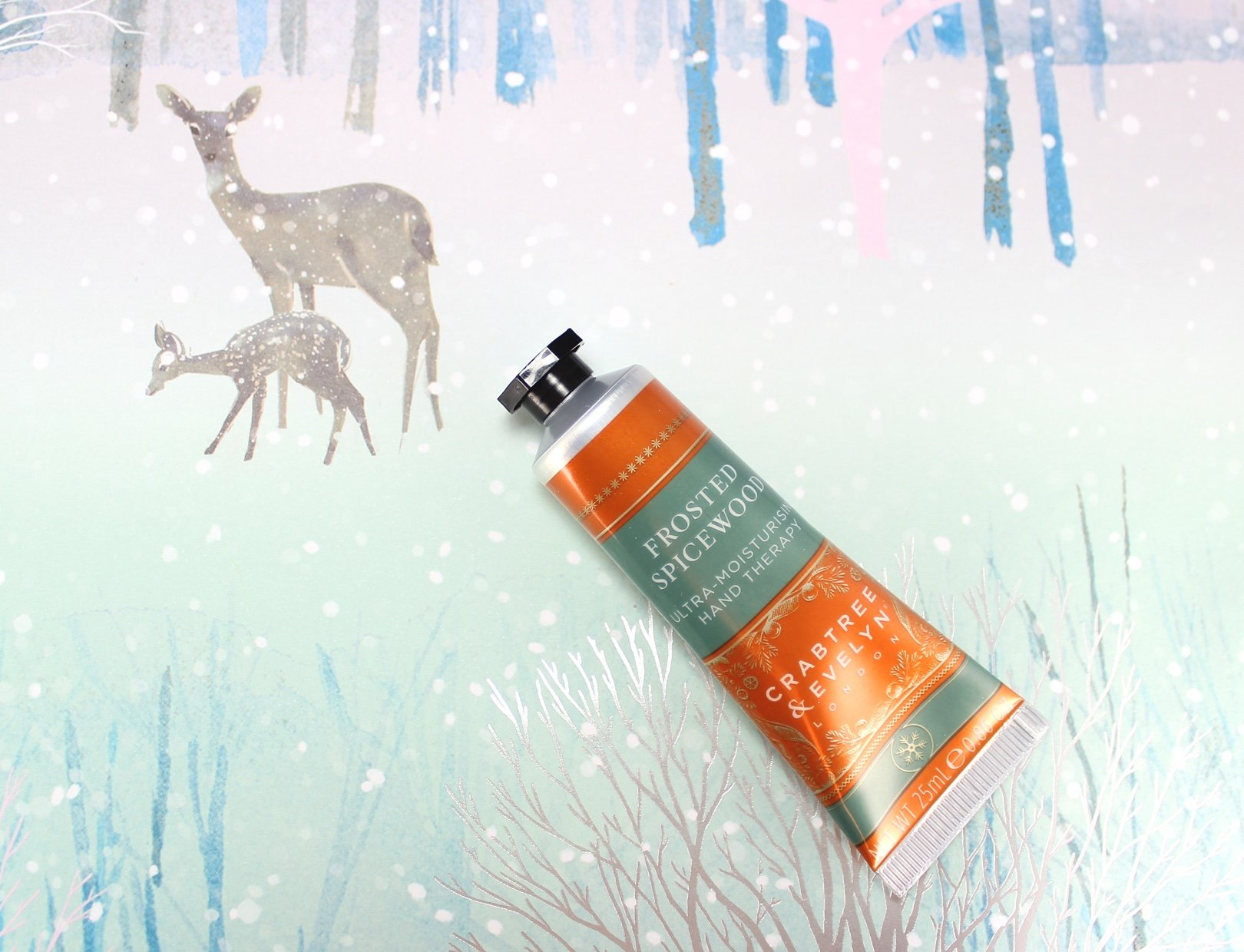 12 days of crabtree & evelyn advent calendar frosted spicewood