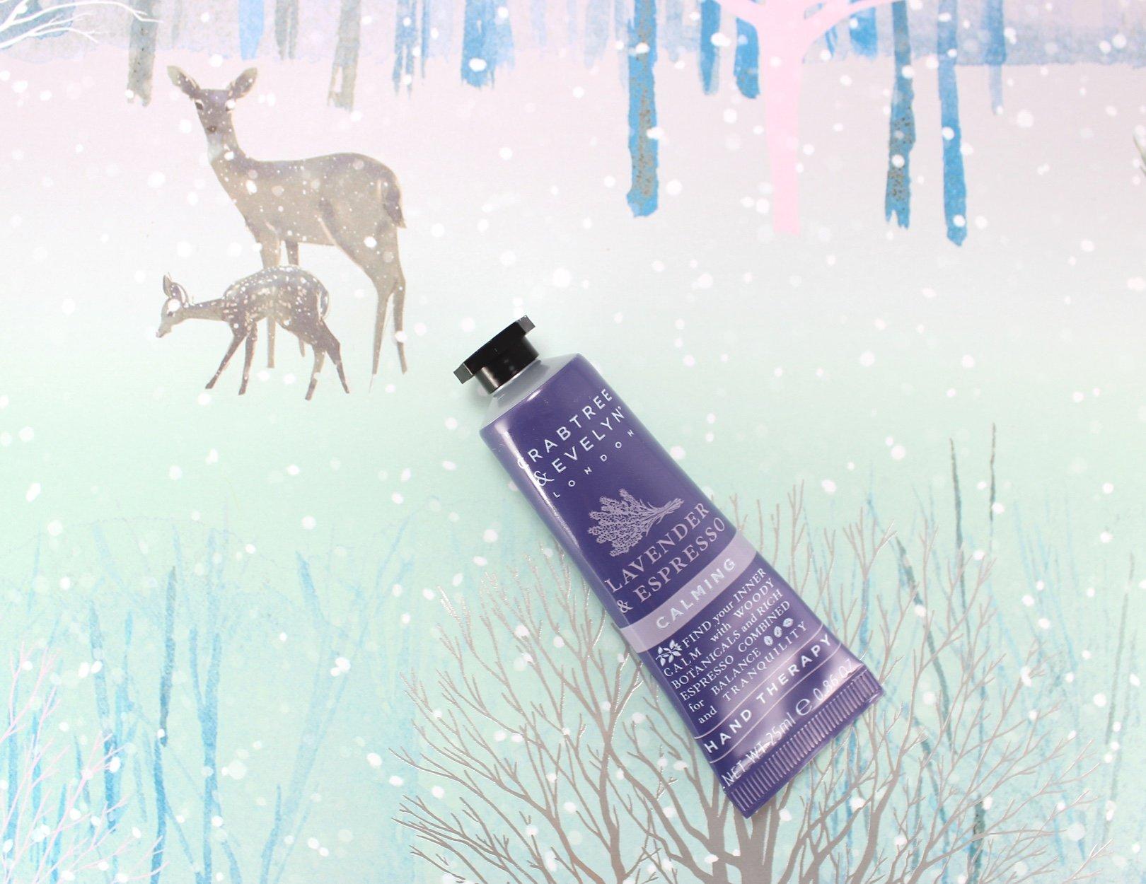 12 days of crabtree & evelyn advent calendar – lavender espresso