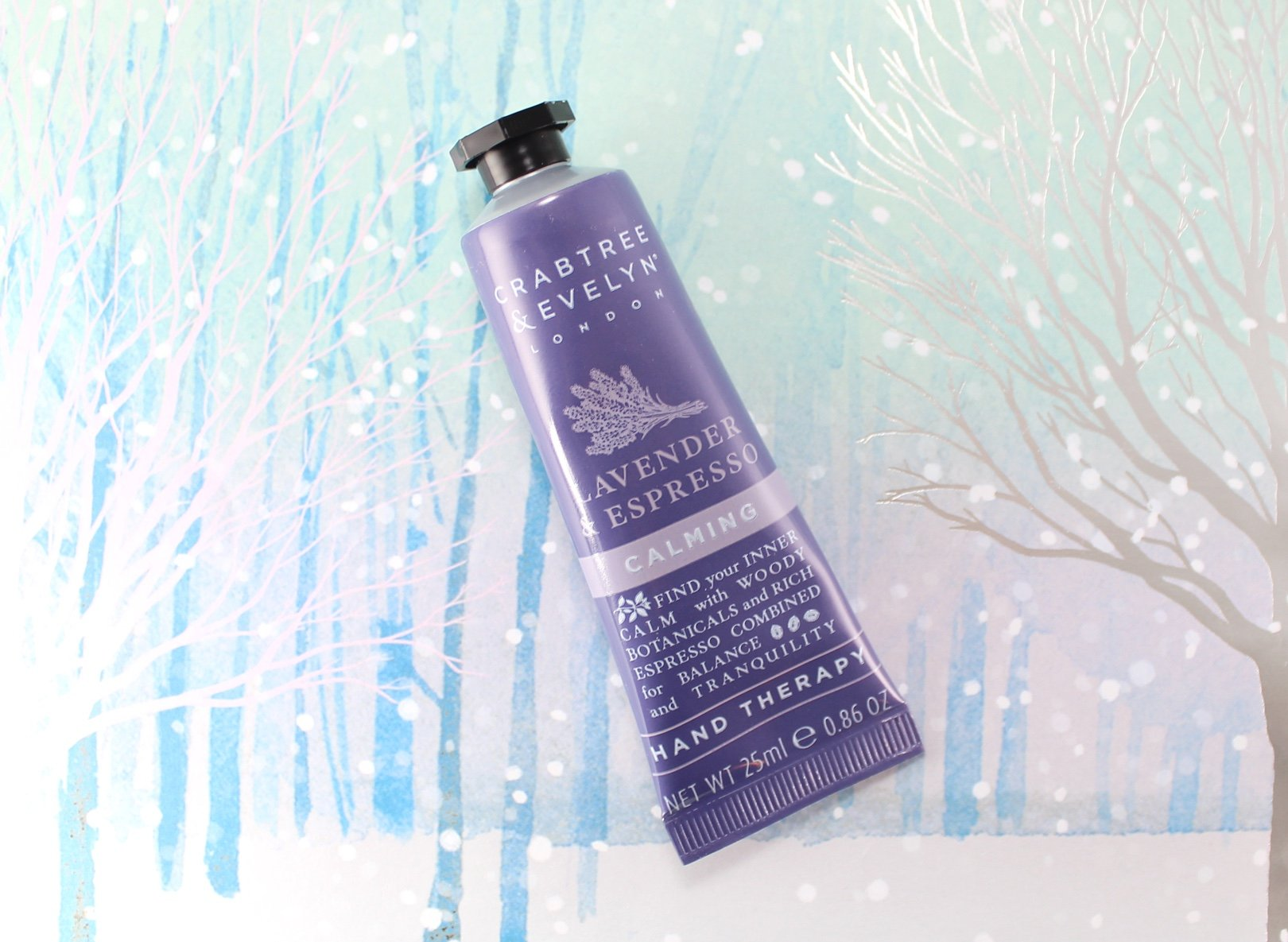 12 days of crabtree & evelyn advent calendar – day 9 lavender espresso