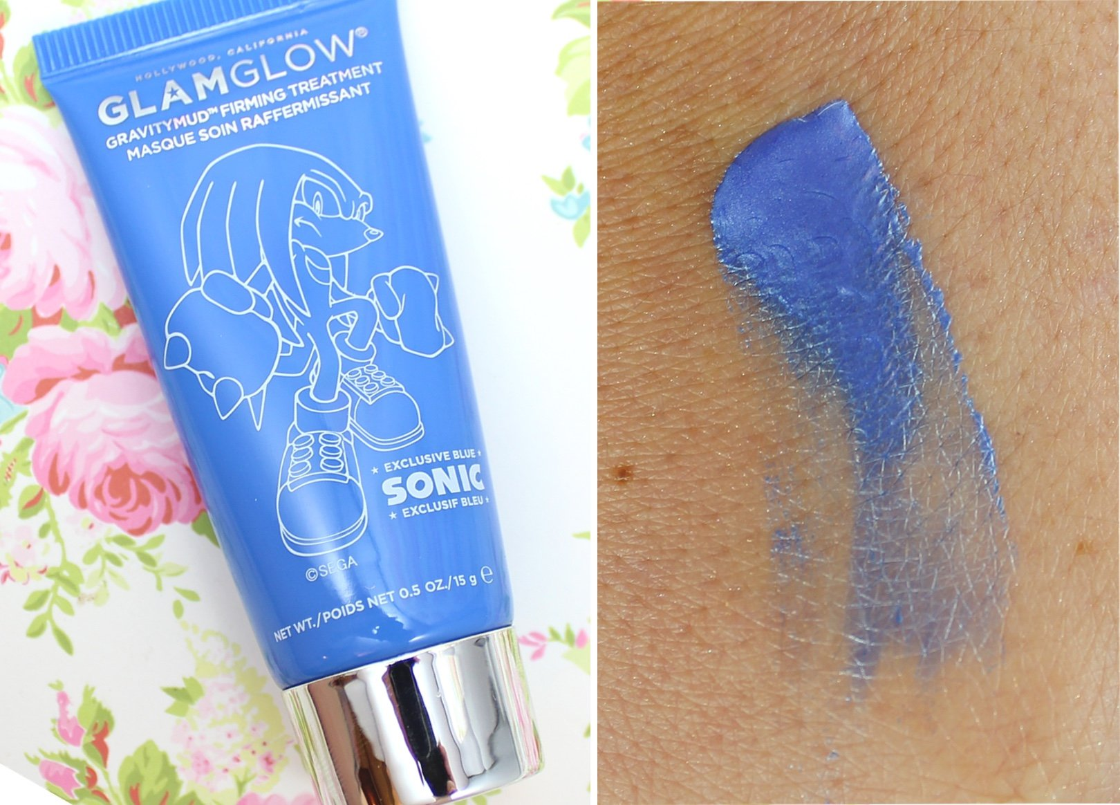 GLAMGLOW Gravitymud Firming Treatment - Sonic Blue review