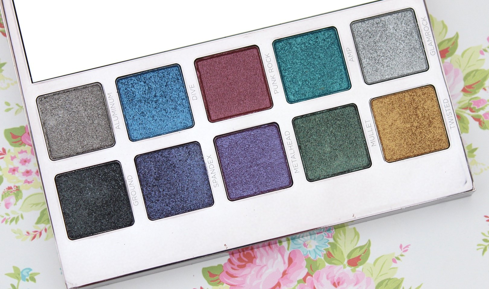 Urban Decay Heavy Metals Metallic Eyeshadow Palette beauty blog