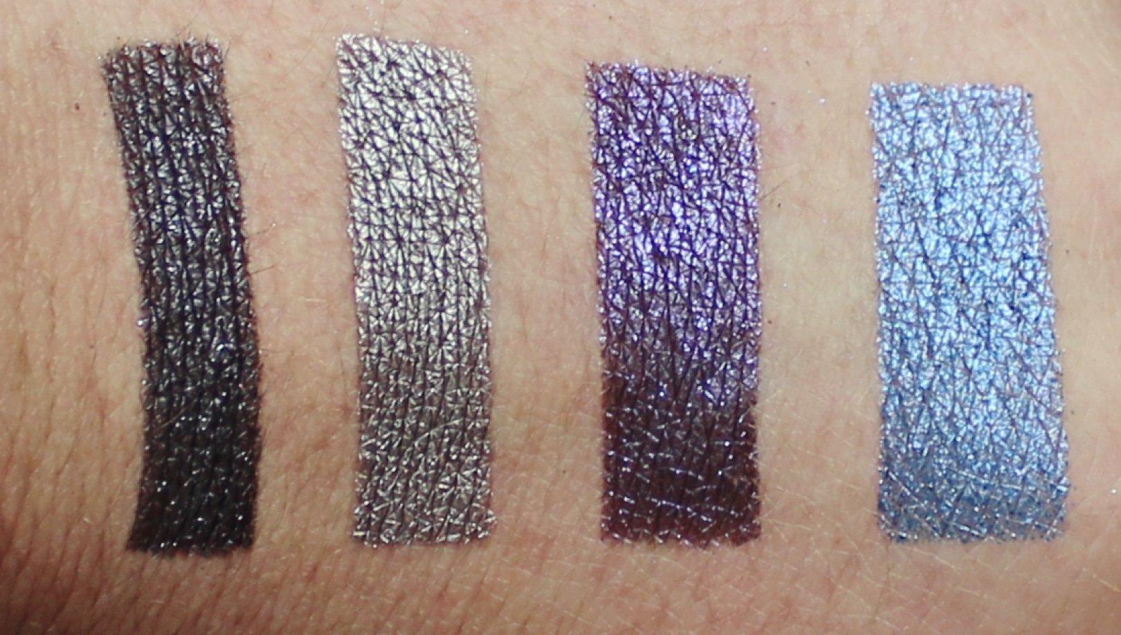 Urban Decay Heavy Metals Metallic Eyeshadow Palette swatch