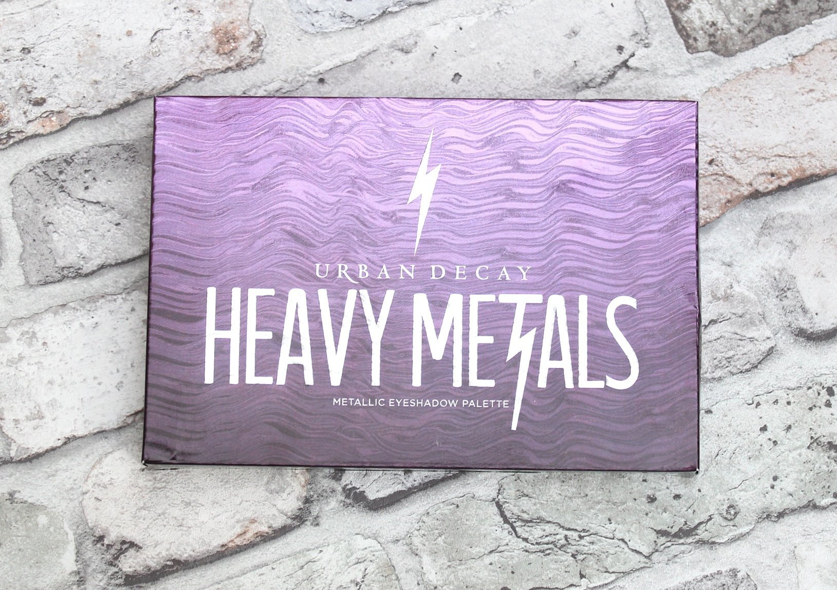 Urban Decay Heavy Metals Metallic Eyeshadow Palette