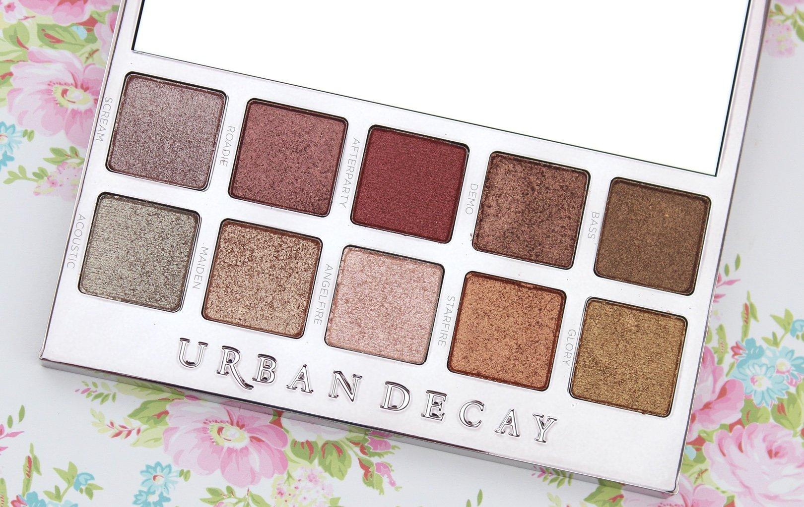 Urban Decay Heavy Metals Metallic Eyeshadow Palette bbloggers