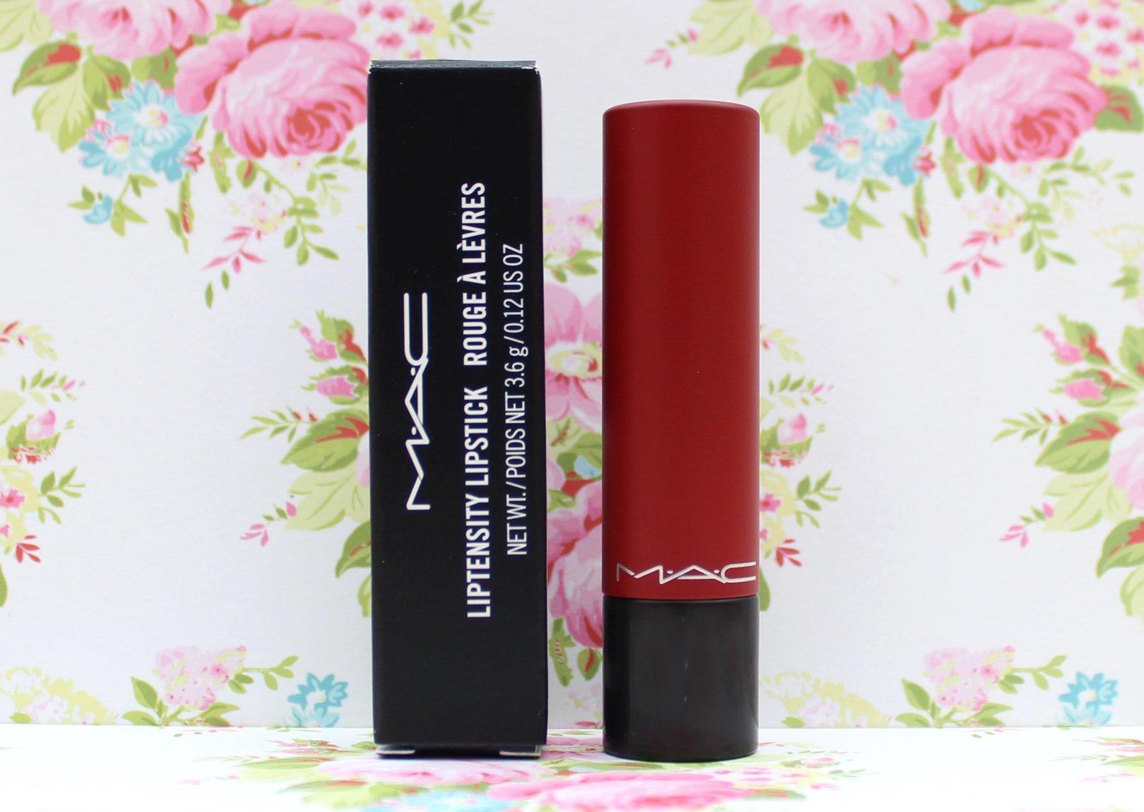 MAC Liptensity Lipstick Fire Roasted