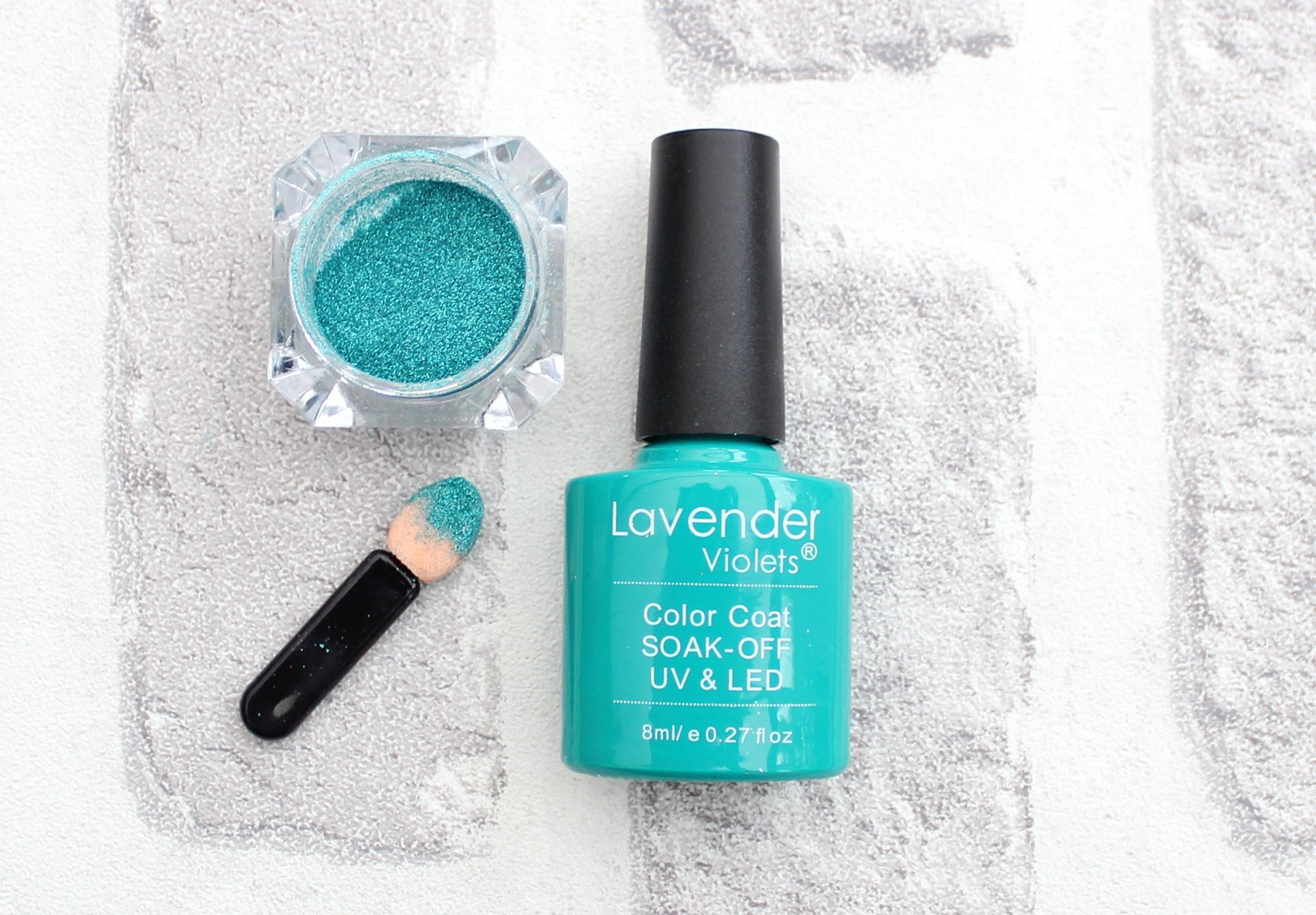 Holographic Teal Pigment