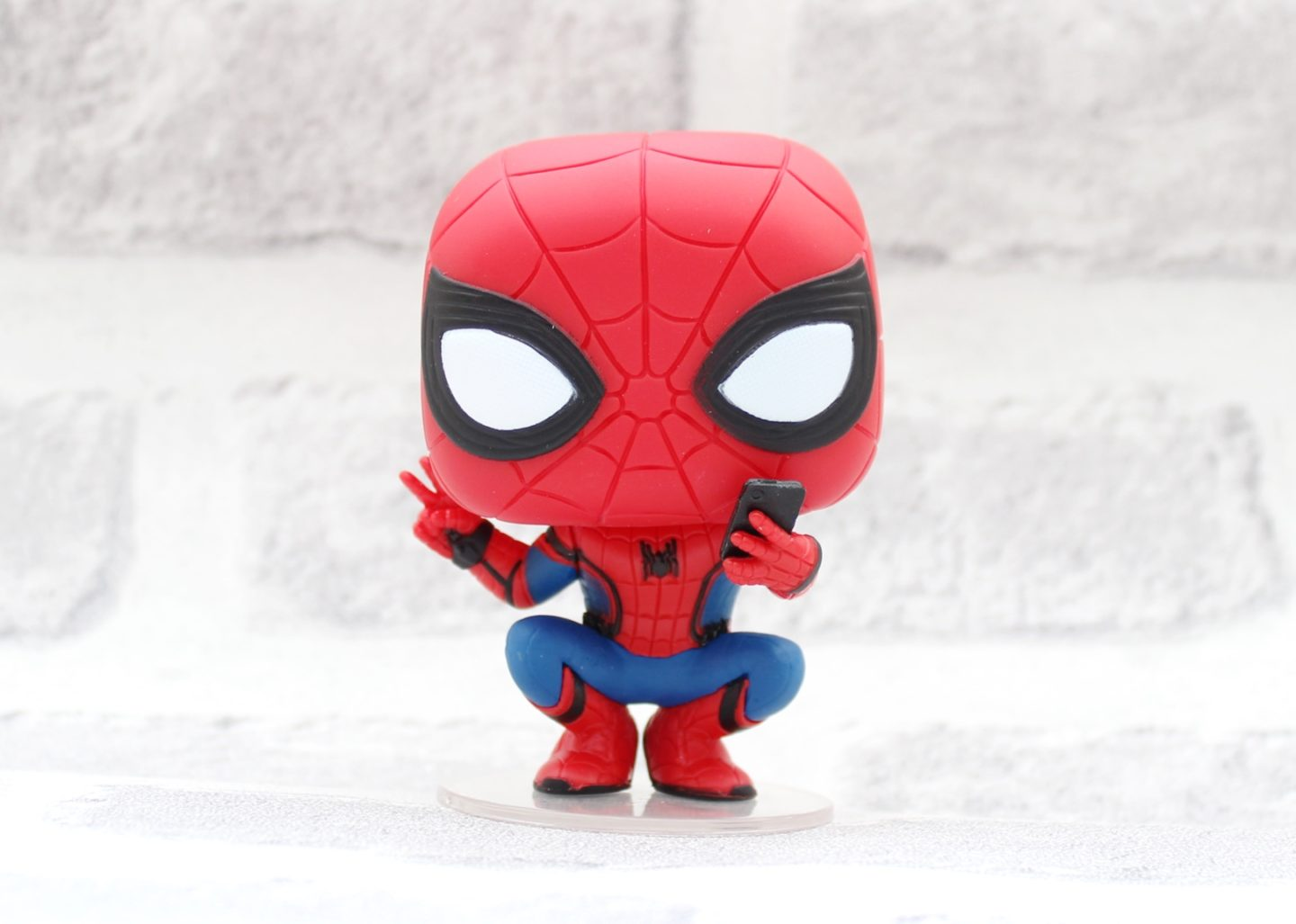 spider-man far from home funko pop in a box