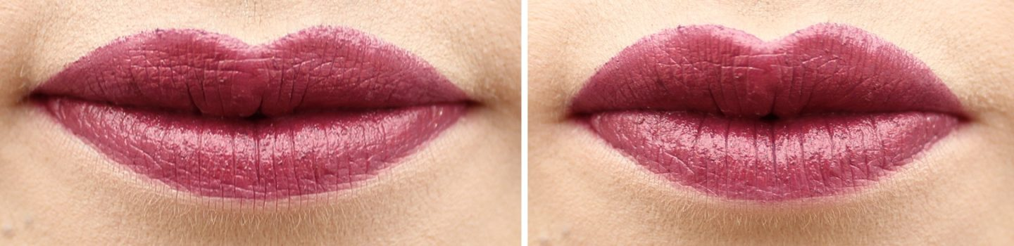 MAC Kiss of Stars Lipstick Swatch