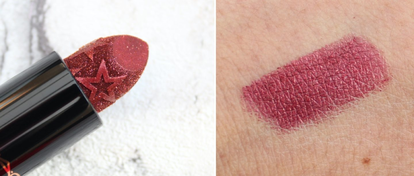 MAC Kiss of Stars Lipstick Walk of Flame Swatches