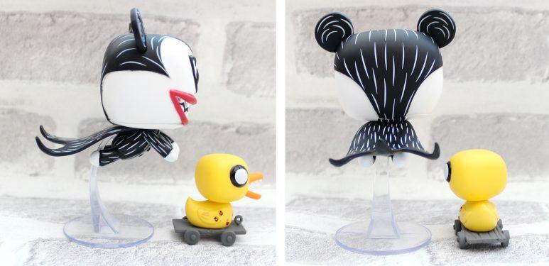 vampire teddy and duck funko pop