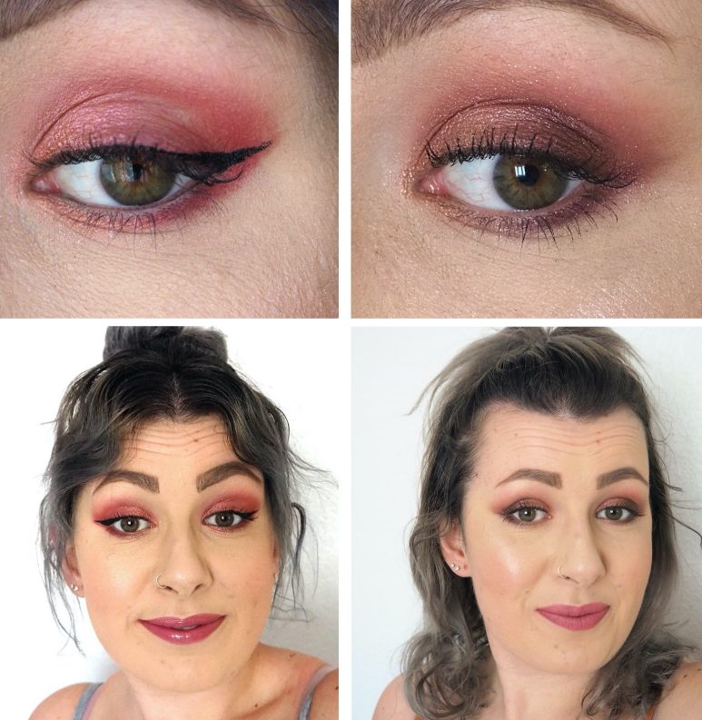 Huda Beauty Nude Obsessions Eyeshadow Palette Rich Makeup Looks
