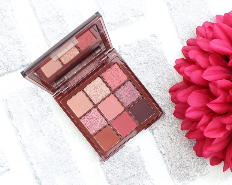 Huda Beauty Nude Obsessions Eyeshadow Palette Rich review