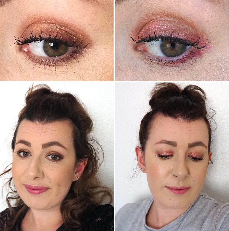 MAC Gilty Pleasure Eye Shadow Palette Looks