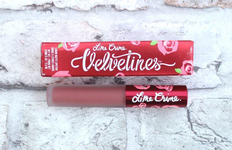 Lime Crime Matte Velvetines Liquid Lipstick Sasha